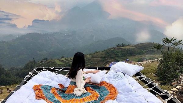 Truy tìm phiên bản giường lưới trên cao đẹp tựa Bali ở Việt Nam