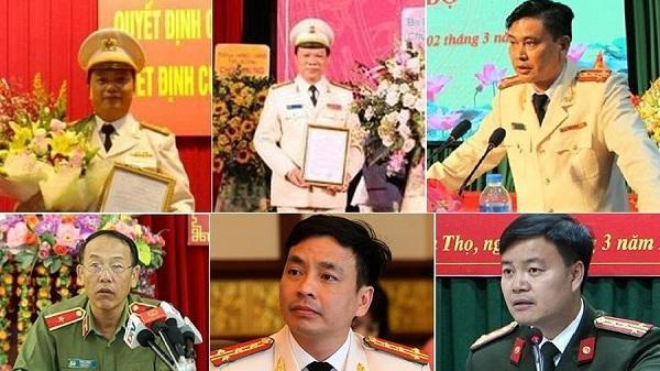 Chân dung 6 lãnh đạo công an các tỉnh Tây Bắc
