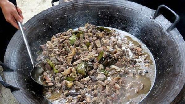 Thắng cố Bắc Hà (Lào Cai) lọt vào Top 100 món ăn đặc sản Việt Nam