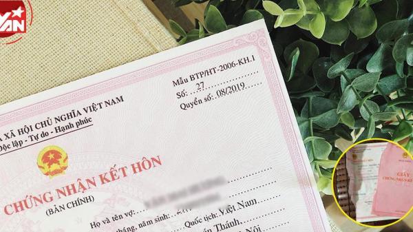 Từ ngày 1/9/2020, xé giấy đăng ký kết hôn có thể bị phạt 20 triệu đồng