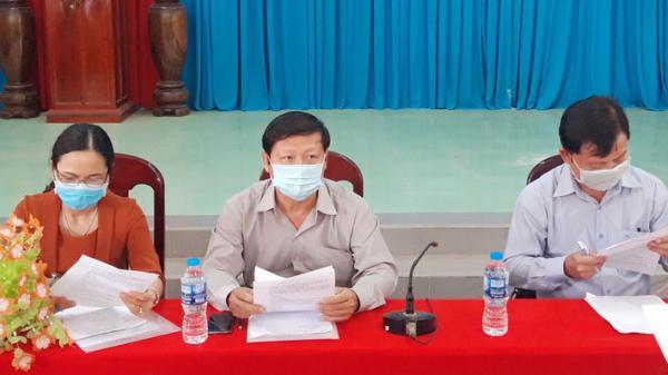 Bến Tre: Kiểm tra công tác ứng phó với tình hình dịch bệnh tại Mỏ Cày Nam