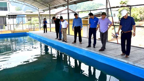 Yên Bái: Khánh thành bể bơi phòng, tránh đuối nước tại huyện Lục Yên