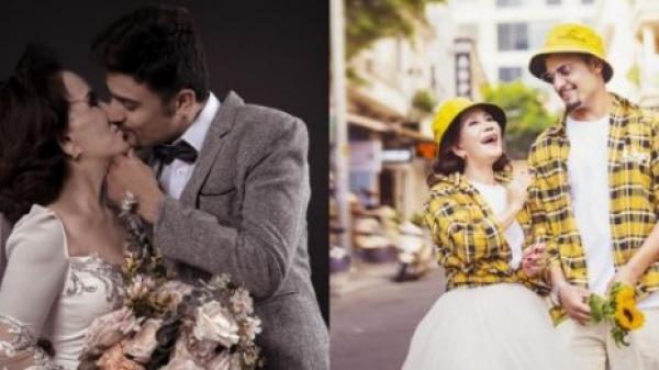 """Bộ ảnh cưới """"đẹp thần sầu"""" của cô dâu 65 tuổi và chồng trẻ: Bức nào cũng đòi hôn để tạo dáng"""