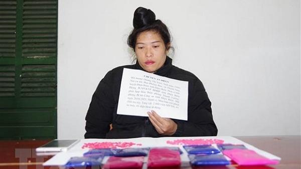 Bắt nữ đối tượng mua bán 2.000 viên ma túy tổng hợp
