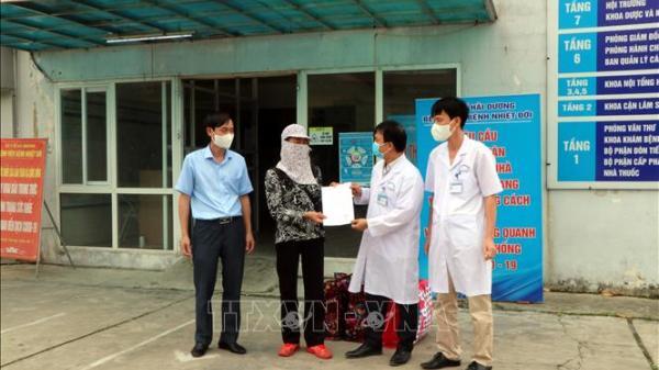 Bệnh nhân mắc COVID-19 cuối cùng ở Hải Dương được ra viện