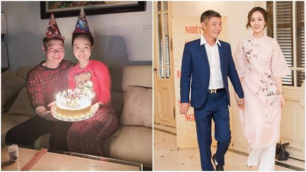 Diễn viên Công Lý giản dị tổ chức sinh nhật cho bạn gái kém 15 tuổi