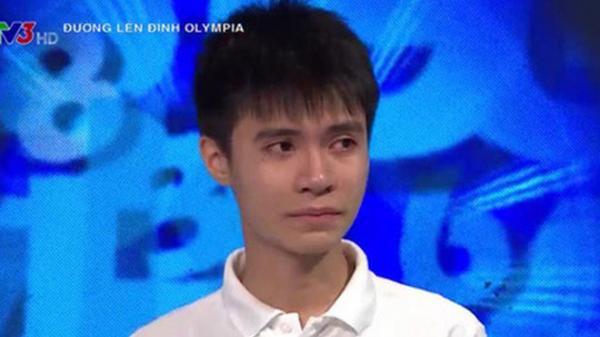 """""""Nam sinh Olympia khóc nức nở"""" nói gì về drama chương trình dồn câu hỏi khó, bản thân bị loại vòng chung kết?"""