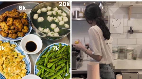 Mâm cơm cho 6 người ăn chỉ hết 40k khiến dân tình cảm thấy khó tin, hỏi gấp chỗ mua thức ăn rẻ không tưởng thế kia