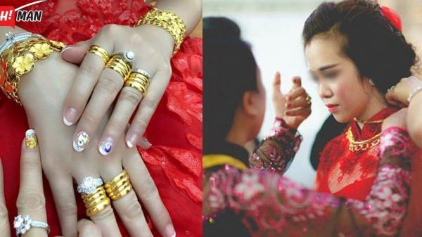 Vàng cưới và của hồi môn là tài sản riêng của người vợ