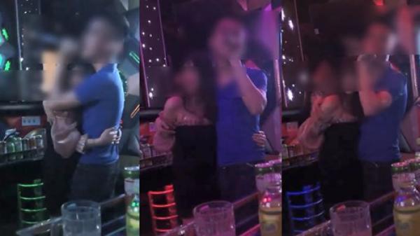 """Trốn vợ đi hát karaoke, thanh niên tay thì ôm """"gái ngành"""" nhưng miệng vẫn hát """"Vợ tuyệt vời nhất"""""""