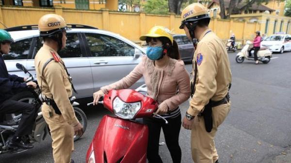 Mức xử phạt lỗi xe không gương chiếu hậu mới nhất năm 2020